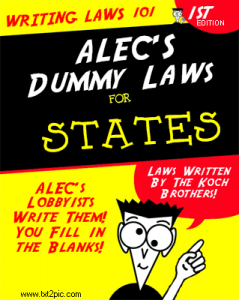 (via Smart ALEC University - Are Your State Legislators Being Indoctrinated? | Winning Progressive)