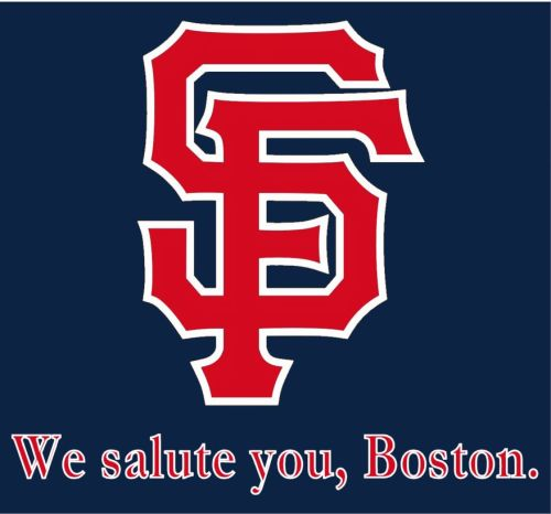 attababe:  chef-johnny:  Giants fans are behind you, Boston.   SF!!!!!!!!!!!!!!!!!!!!!!11111