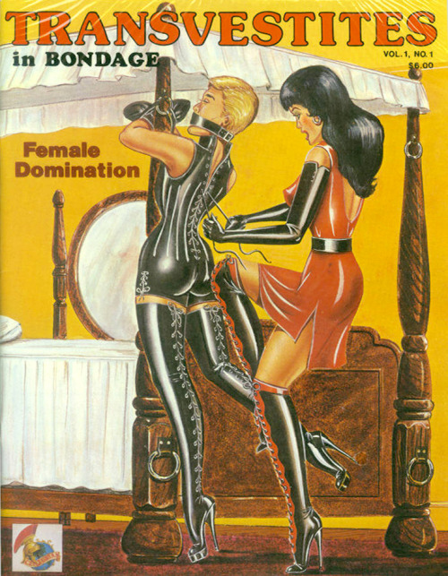 fetishfashionvictim:    Transvestites In Bondage http://fetishfashionvictim.tumblr.com/archive    The safest place for us to be. XX
