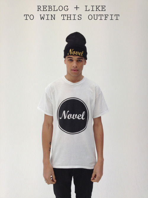 novelapparel:  Competition.Simply Reblog and Like this photo to be entered however you must be following the Tumblr page! The winner will be announced 10 days from now! 37/02/1013www.novelapparel.bigcartel.com