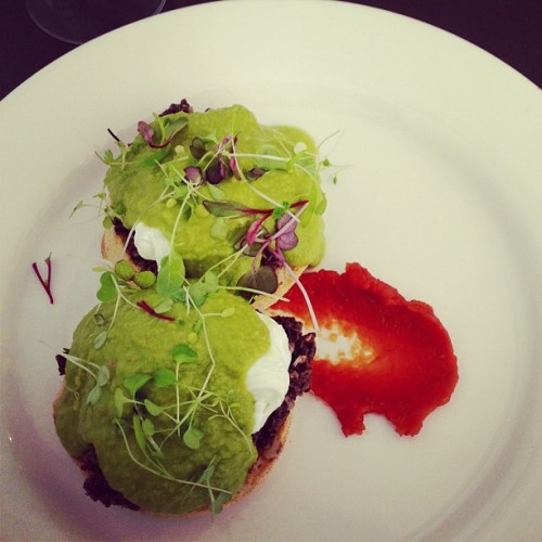 green eggs no ham 🍳 (at Willow & Spoon)
