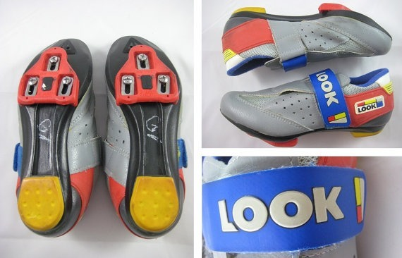 80s cycling shoes