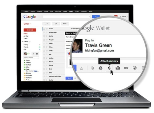 laughingsquid:  Google Wallet Update Allows Users to Send Money Through Gmail Attachments  if anyone would like access to this, let me know your email address and I can hook you up!  It is a viral feature; ie you will only be able to send money after someone sends money to you.