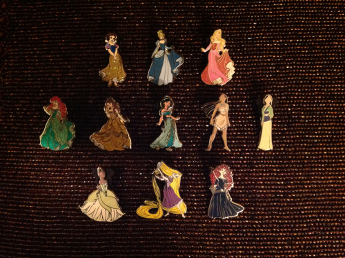Disney Princess Pins!