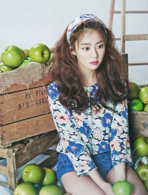 kpophqpictures:  [MAGAZINE] KARA Seungyeon – Beauty+ Magazine May Issue '13