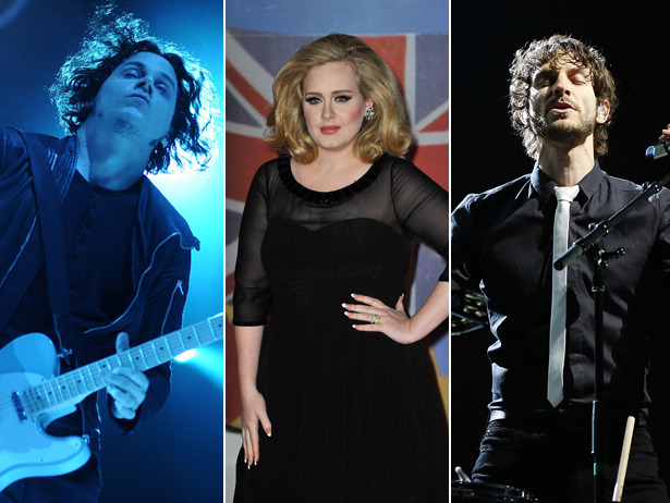 The numbers are in and Adele, Gotye and Jack White all top the sales charts for 2012.