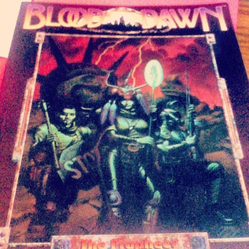 One of my Christmas Gifts finally arrived! Blood Dawn!