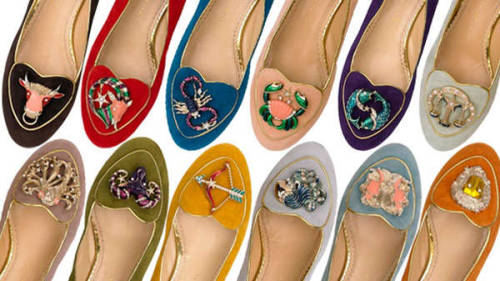 The Charlotte Olympia Cosmic collection celebrates the Zodiac signs in a classy understated way. As a lover flats and a Proud Aries, this would definitely be on my wishlist.