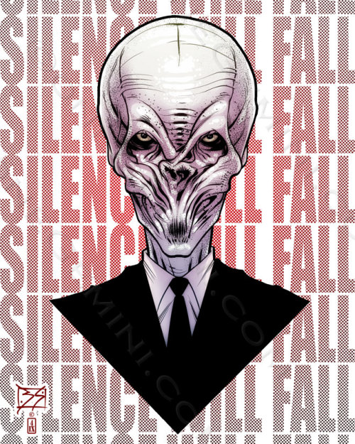 theundeadavenger:  SILENCE WILL FALL by *onegemini