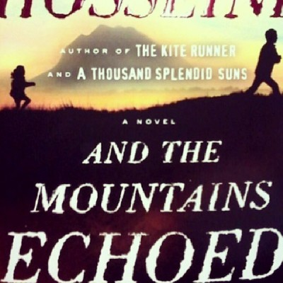 New book from one of my favorite authors, #KhaledHosseini! #AndTheMountainsEchoed #Excited :D