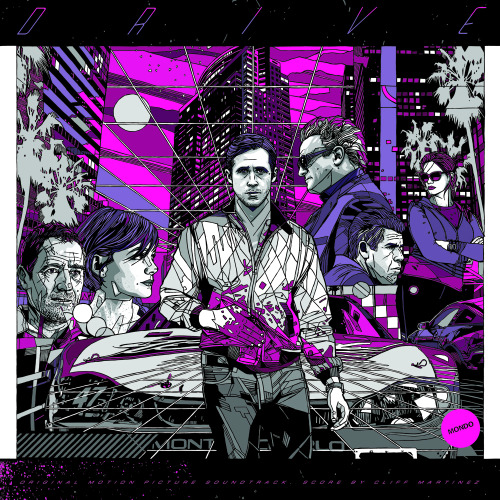 Behold: Artist Tyler Stout's awesome cover for the Drive soundtrack's forthcoming vinyl reissue.
