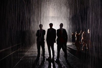 artruby:  Rainroom 2012 (on view until July 28th at the MoMA). Photo: PMc