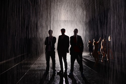 Rainroom 2012 (on view until July 28th at the MoMA). Photo: PMc