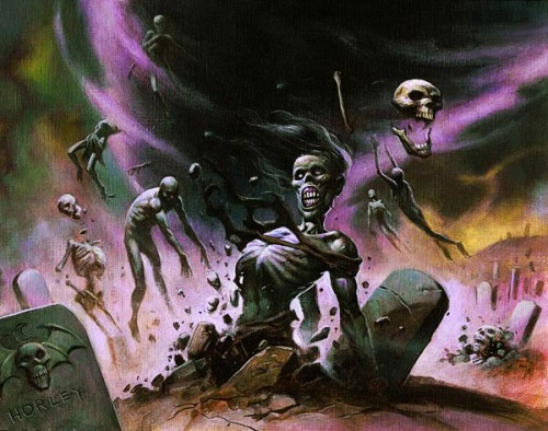 theartofmtg:  Gravestorm by Alex Horley