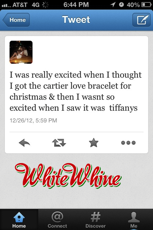 whitewhine:  What an enormous let down
