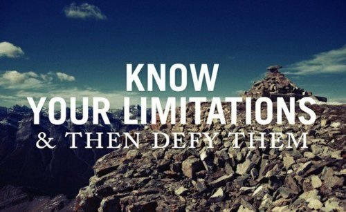 About limitations