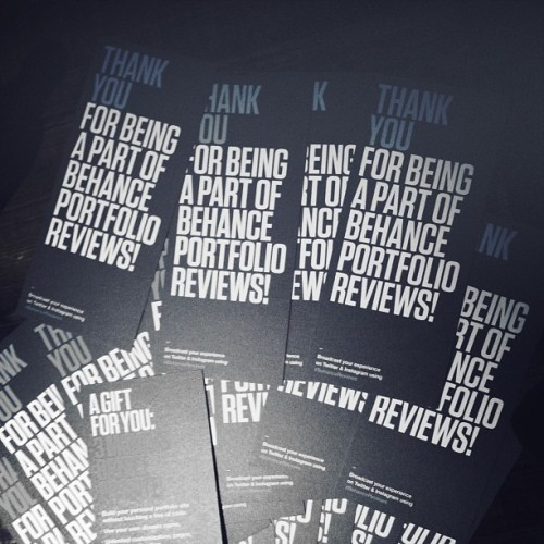 sophia-ahamed:  Behance Portfolio Reviews was great! Awesome turn out! @thisisvancity #behancereviews @behance (at Lost + Found)