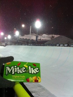 IKE'S ART THE X GAMES 01.28.13 / by Ike Just got back from the X Games. It was an unreal experience and I can't believe it's over. Check out this picture of the superpipe at the snowboard event. It was crazy! I'll definitely be going back next year!  ~Ike