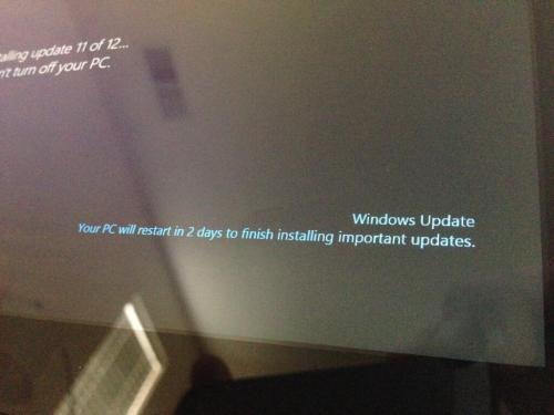 Go home in two days, Windows 8.  [thanks, Mark Jardine]