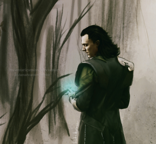 lindamarieanson:  Now what are we becoming by *LindaMarieAnson Loki This is kind of craptastic (and with the worst BG in the history of BGs), but I feel the need to post it anyway.