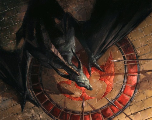 spec-art:  Amorphous Drake by Lucas Graciano