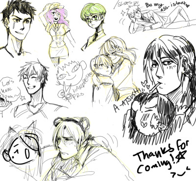 sketches from streamssss