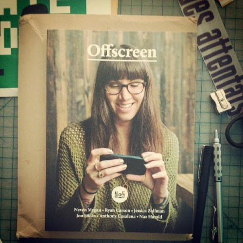 Good times @offscreenmag #offscreenmag #5