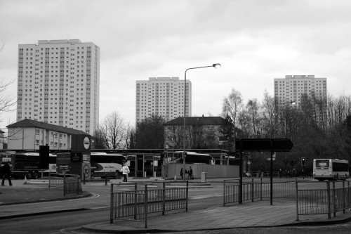 Towers. Glasgow, March 2013.