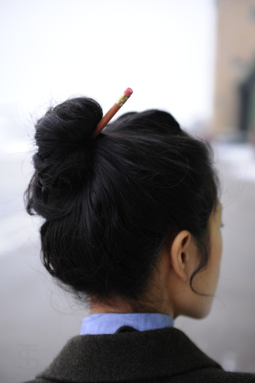 lulufrost:  BAUBLE OF THE DAY This hair accessory gets an A+ source: wit + delight