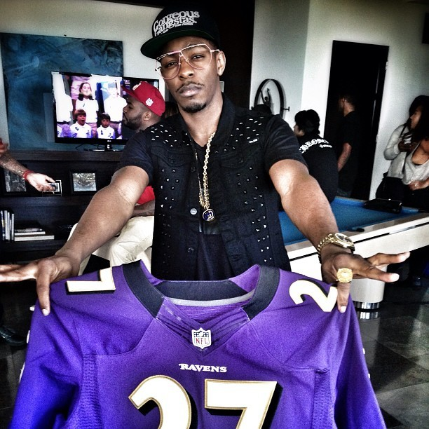 Los – Ray Rice Jersey – Purple Reign - Los