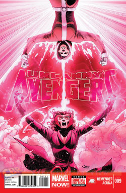 Wanda And Rogue Give Each Other Head(aches) On Uncanny Avengers Cover