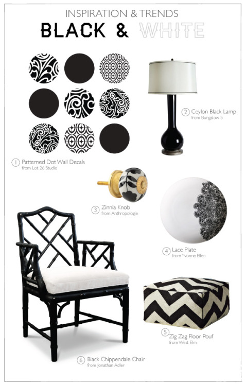 {On the Blog} Trends - Black & White: always classic but also versatile! Read more here: