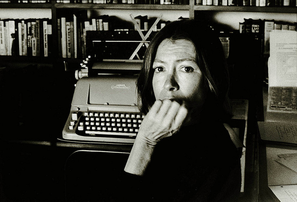 Joan Didion by Nancy Ellison