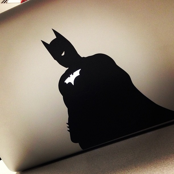 Stepping up the vinyl decal game. Nicely done @ragsftw #GodDamnBatman