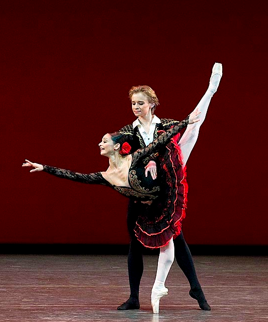 Don Quixote pas de deux Daniil Simkin and UFD (Unidentified Female Dancer)
