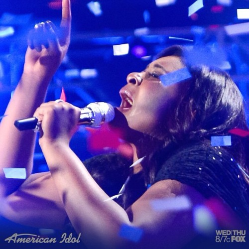 Congrats to the lovely Candice😁🎶🎤#americanidol#candiceglover