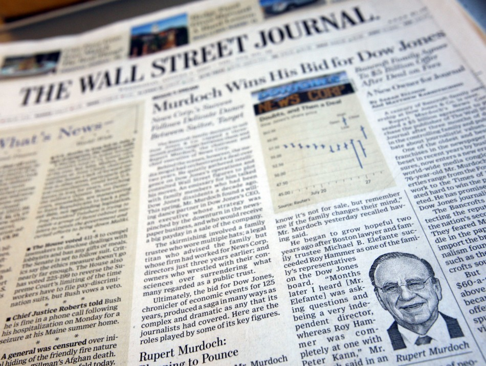 Wall Street Journal Targeted by Chinese Hackers http://www.ibtimes.co.uk/articles/430445/20130201/wall-street-journal-hacked-china.htm