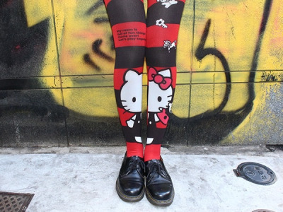 hello-kitty:  Hello Kitty Tights!