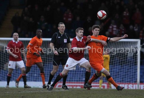More Action from FC United vs Ilkeston!
