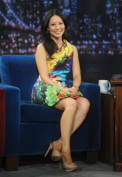 Lucy Liu on Late Night With Jimmy Fallonon Wednesday…