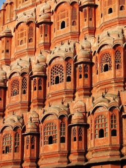 travelthisworld:  The Palace of Winds - Jaipur, India | by Melinda  Incredible!