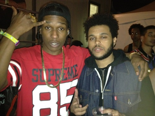 cuttyb:  siixty-neiin:  V$VP x Weeknd  For a trill fashion blog follow Cuttyb.tumblr.com
