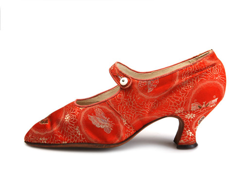 fashionsfromhistory:  Shoes 1925-1927 Shoe-Icons