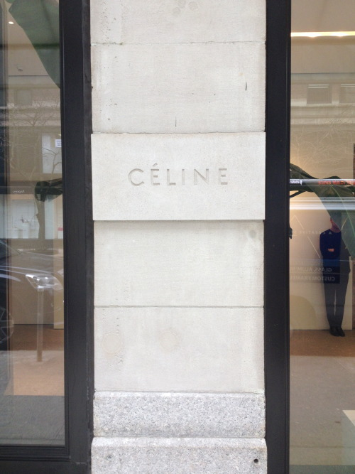 victorielle:  CELINE STORE - MADISON AVE, NYC