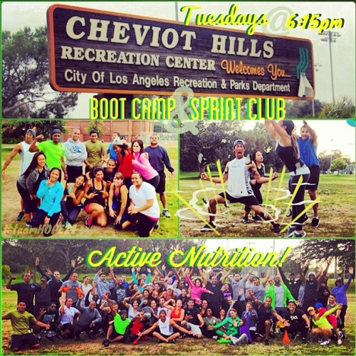 Tomorrow is Tone Up Tuesday!!! Boot Camp AND Sprint Club @ Cheviot Hills in West LA at 6:15pm! Be there & bring some friends!!! #herbalife24 #teamhope24 #sprintclub #bootcamp #active #lifestyle