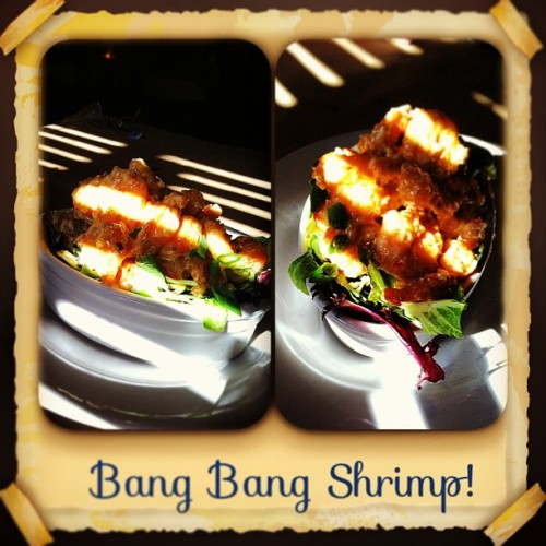 #shrimp #delicious #best thing #bang bang shrimp. You people have to try it. Only at #Bone Fish.