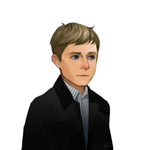 terristar89:  New rendition of John Watson I like this one alot better - < -
