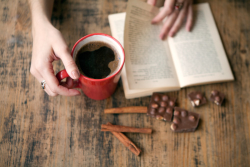 Coffee, cinnamon and chocolates.
