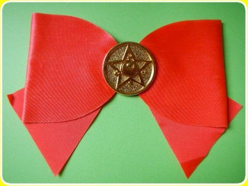 sailormooncollectibles:  cute official bow on ebay for $35 or best offer!! :D