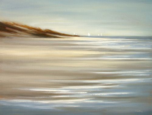 Beyond (18x24) oil painting by Kerri Settle